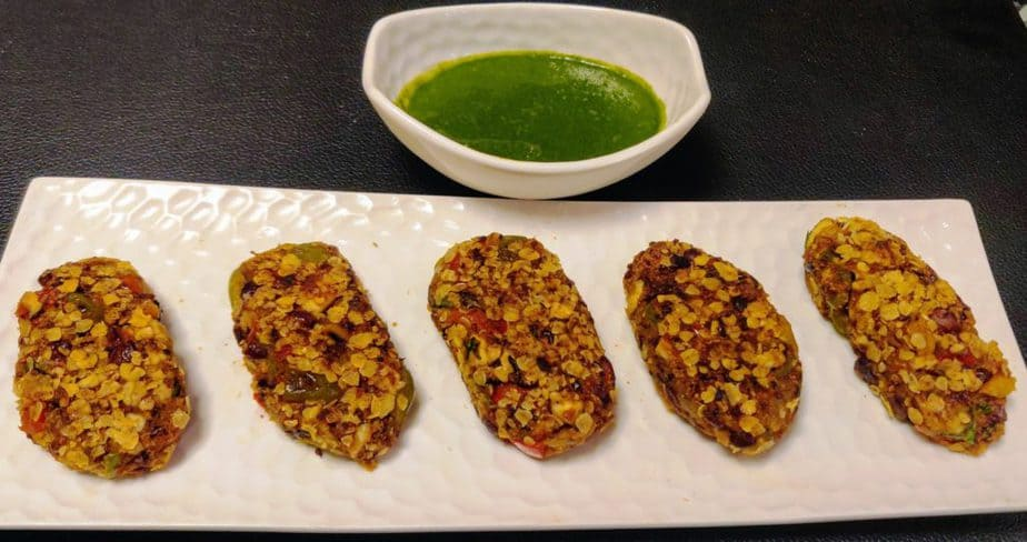 Sprouted Ragi Cutlets
