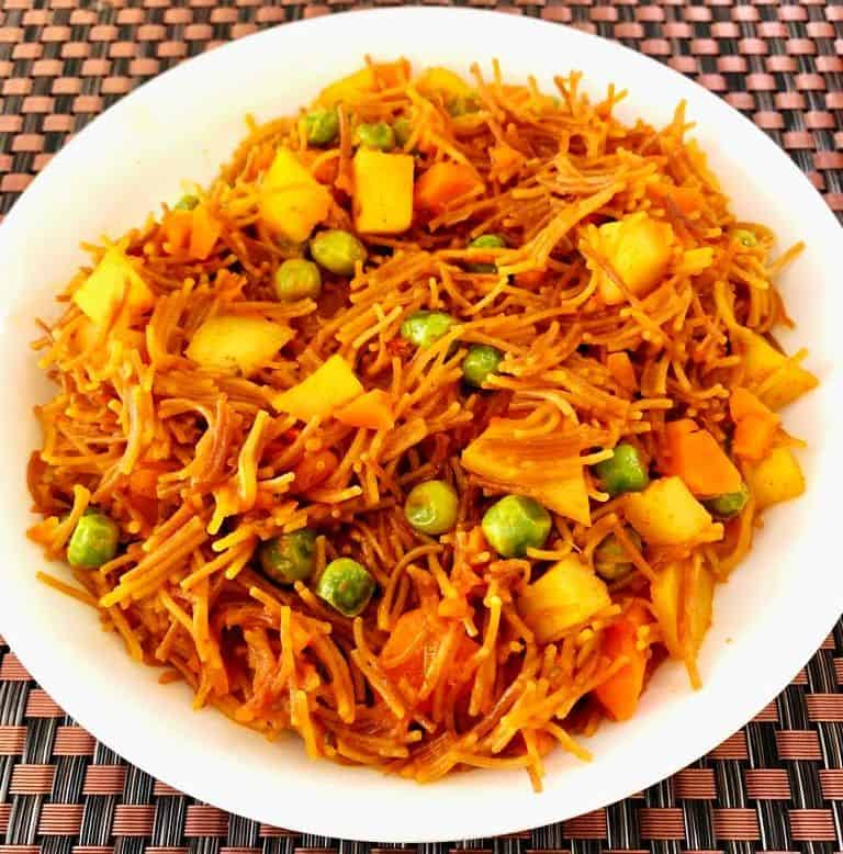Vegetable Vermicelli In Cooker